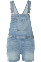 FRAME DENIM Le Garçon stretch-denim overalls