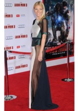 GWYNETH PALTROW In an Antonio Berardi dress at the premiere of Iron Man 3 in Los Angeles in 2013.