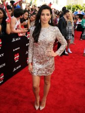 Jenna Dewan-Tatum, Red Carpet, 22 Jump Street, Monique Lhuillier, Style, Fashion, Best Dressed