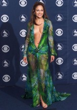 JENNIFER LOPEZ In a Versace gown at the Grammy Awards in Los Angeles in 2000.