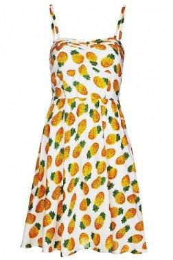 JOY Louche Ditta Pineapple Dress