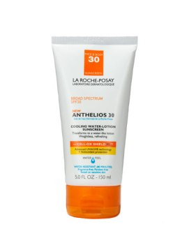 LA ROCHE-POSAY ANTHELIOS 30 COOLING WATER-LOTION SUNSCREEN SPF 30 | Advanced protection that transforms to a refreshing water-like lotion upon contact with skin, from LaRoche-posay.com