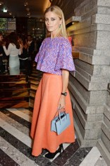 Laura Bailey in Roskanda from pre-autumn/winter 2014 collection at the Roksanda flagship store opening, London - June 10 2014