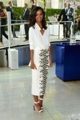 Liya Kebede in Wes Gordon at the 2014 CFDA Fashion Awards
