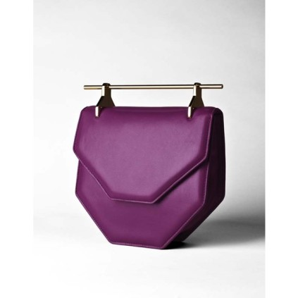 M2MALLIER AMOR/FATI BAG - BRIGHT PURPLE