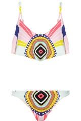 BATHINGSUIT | MARA HOFFMAN Rays printed bikini, $150 from net-a-porter.com