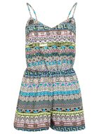 MISS SELFRIDGES Embellished Aztec Playsuit