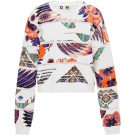 MSGM Printed Cotton Sweatshirt