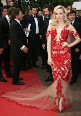 RACHEL MCADAMS In a Marchesa gown at the Midnight in Paris film premiere at Cannes Film Festival in 2011.