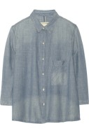 6. CHAMBRAY SHORT | RAG & BONE Cotton-chambray shirt, from net-a-porter.com