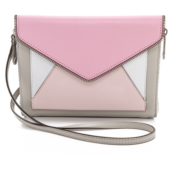 Rebecca Minkoff Colorblocked Marlowe Mini Cross Body Bag