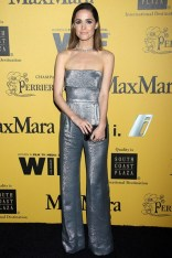 Rose Byrne wore a jumpsuit by MaxMara at Women In Film 2014 Crystal + Lucy Awards, LA - June 11 2014