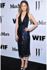 Rose Byrne wore a MaxMara sequin dress with Jimmy Choo heels at the Women in Film Max Mara Face Of The Future party, LA - June 10 2014