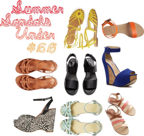 256c04907a7 Summer Sandals Under  60