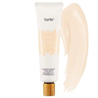 BB + CC CREAM | TARTE BB Tinted Treatment 12-Hour Primer Broad Spectrum SPF 30 Sunscreen, $42 from sephora.com