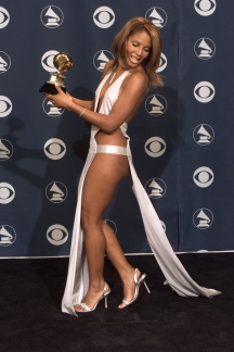 Toni Braxton at the Grammys in 2011.