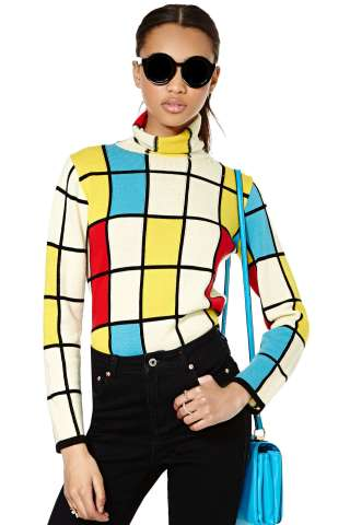 Vintage JUNYA WATANABE In Living Color Sweater, from nastygal.com